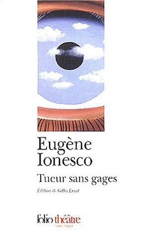 Tueur sans gages par Eugène Ionesco