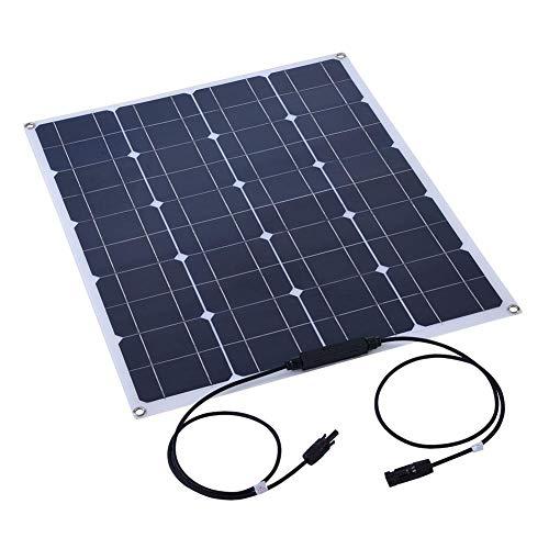 Especificación:  Potencia máxima: 80W ± 0.25W  Voltaje de trabajo: 18V ± 0.3V  Corriente de trabajo: 6.66At0.15A  Corriente de cortocircuito: 4.44A ± 0.15A  Voltaje de circuito abierto: 21V ± 0.8V  Voltaje del coeficiente de temperatura: (O.06510 ± 0...