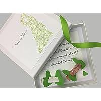 Geldgeschenk zur Hochzeit PERSONALISIERT Ornament Brautpaar