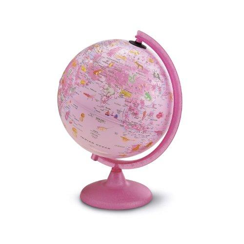 Zoo Pink Leucht Globus 25cm