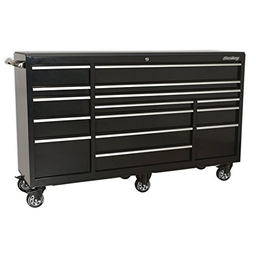 SEALEY ptb183015 1845 MM 15-drawer très résistant rouleau Cab