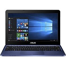 Asus E200HA-FD0042TS 29,4 cm (11,6 Zoll) Notebook (Intel Atom x5-Z8350, 2GB RAM, 32GB eMMC, Intel HD Graphics, Win 10) blau