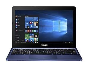 Asus E200HA-FD0004TS 29,4 cm (11,6 Zoll Glare Type) Notebook (Intel Atom x5-Z8300, 2GB RAM, 32GB eMMC, Intel HD, Win 10 Home) blau