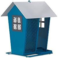 Opus [Perky-Pet]  421 Comedero para pájaros Duo – Azul