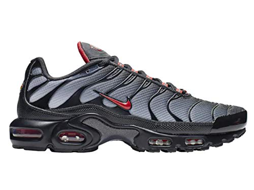 e7fa7f3f04d96b Nike Schuh Air Max Plus Black University red-Wolf Grey (41 EU)