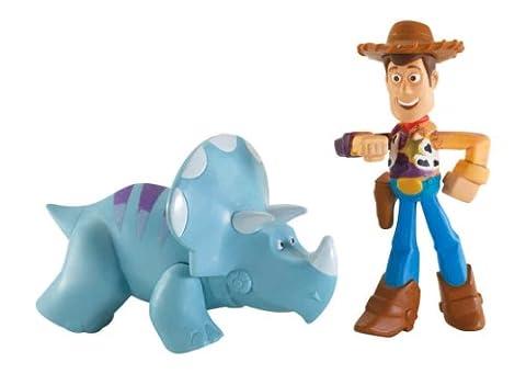 Toy Story - W7398 - Coffret 2 Mini Figurines - Color Splash - Woody et Trixor