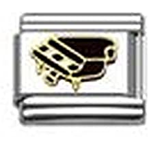 Grand Piano convient breloque Italienne Classique Nomination \u0026 Zoppini  Bracelets CHARMES