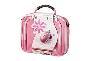 Trust 10-inch Tablet Bag Case Including Optical Mouse - Pink