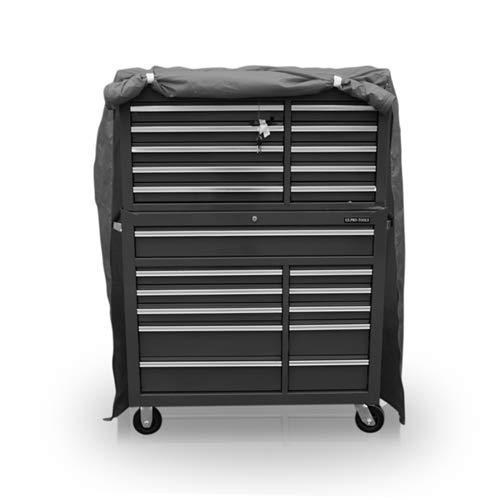 Stahl Brust-tool-box (US PRO TOOLS Werkzeug Brust Box Cabinet Schutzhülle 119W x 46D x 155.5H cm)