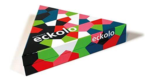 REMEMBER Eckolo - buntes Anlegespiel mit dreieckigen Karten für Erwachsene und Kinder ab 6 Jahren