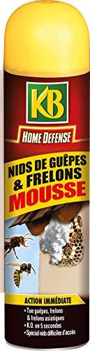 KB Mousse Nid de Guepes et Frelons 500ml