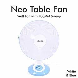 Plaza Neo Table Fan 400 mm Table Fan- White