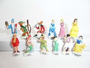 Fève des rois collection Princesses et Héros Disney + 1 série complète surprise offerte + 1 couronne fantaisie offerte