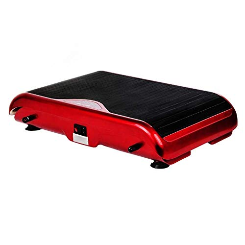 QNJM Vibrationsplatte |Trainingsgeräte for Zu Hause |Fitness Vibration Platform Trainingsgerät |Gleichen Sie Ihr Gewicht Workout Equipment (Color : Red, Size : 68cm/26.8inch)