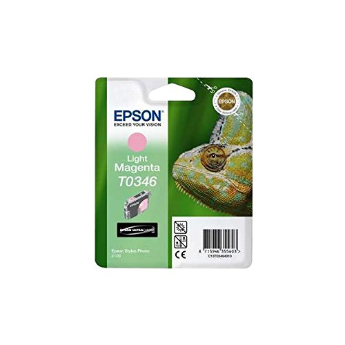 Epson T0346 Cartouche d'encre d'origine Magenta clair pour Stylus Photo 2100