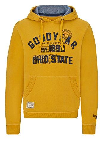 Goodyear Herren Hoody Huntington Beach Yellow