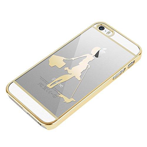 Apple iPhone 6 / 6s Handyhülle inklusive Displayfolie Frau mit Dackel Frau mit Dackel