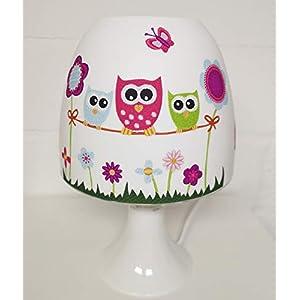 ✿ Tischlampe ✿ EULE/Owl 3 ✿ Tischleuchte ✿ Schlummerlicht ✿ Nachttischlampe ✿ Lampe ✿