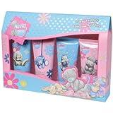 Grace Cole Tatty Teddy's Bathtime Buddies Foam Bath 100ml/ Body Wash 100ml/ Shampoo 100ml/ Body Lotion 100ml