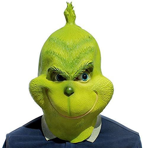 Lustige Geek Kostüm - VAWAA Lustige Weihnachten Geek Cosplay Maske