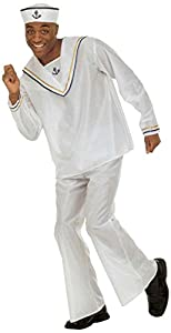 WIDMANN Unbekannt - Disfraz de marinero navy para hombre, talla L (W3784-L)