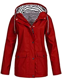 f155486d2 Amazon.co.uk  Red - Coats   Jackets   Women  Clothing