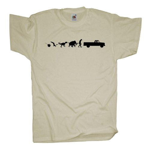Ma2ca - 500 Mio Years - Pick Up Truck T-Shirt Natural