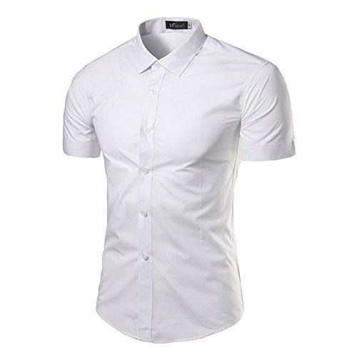 Sunshey -  Camicia Casual  - Uomo White