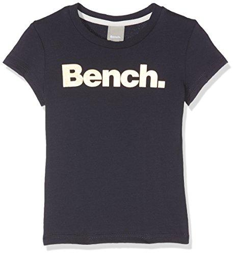 Bench Mädchen T-Shirt New Corp Tee, Blau (Essentially Navy Bl11341), 116 (Herstellergröße: 5-6) (Blaue Mädchen-tee)