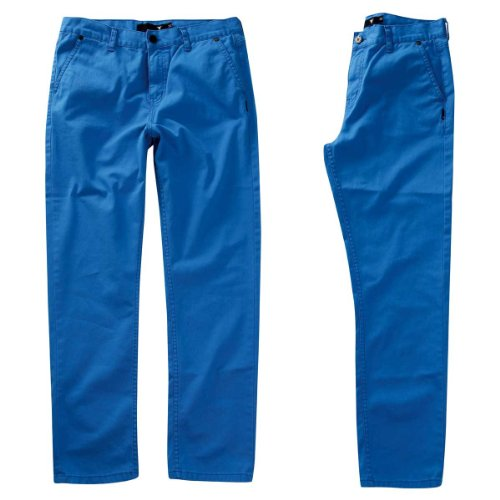 Fallen–Byron Chino Twill pantaloni blu cielo