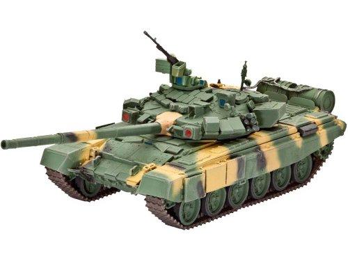 Revell Modellbausatz Panzer 1:72 - Russian Battle Tank T-90 im Maßstab 1:72, Level 4, originalgetreue Nachbildung mit vielen Details, 03190