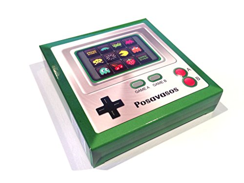 retro-videogame-case-with-12-square-color-printed-coasters-coasters-absorbent-and-extra-thick-size-9