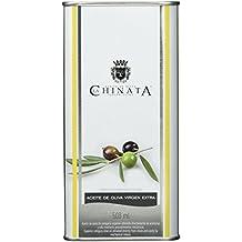 La Chinata Aceite de Oliva Virgen Extra Lata Grande, Natives Olivenöl in attraktiver Dose, 2er Pack (2 x 500 ml)