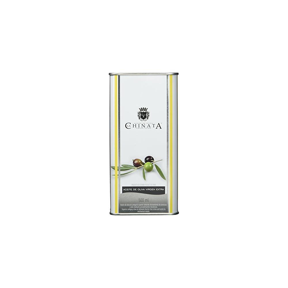 La Chinata Aceite De Oliva Virgen Extra Lata Grande Natives Olivenl In Attraktiver Dose 2er Pack 2 X 500 Ml