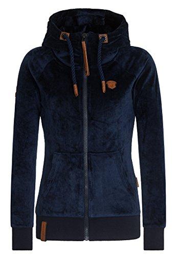 Naketano Female Zipped Jacket Brazzo Mack Dark Blue, XL