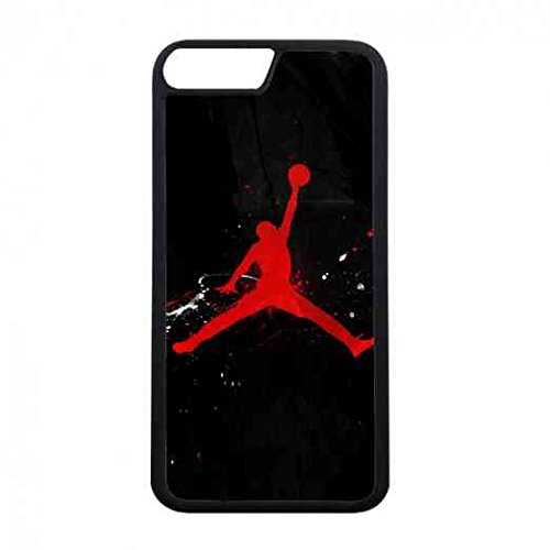 Apple iPhone 7Plus(Not iPhone 7) Handy Schwarz Schützende Tasche für Michael Jordan