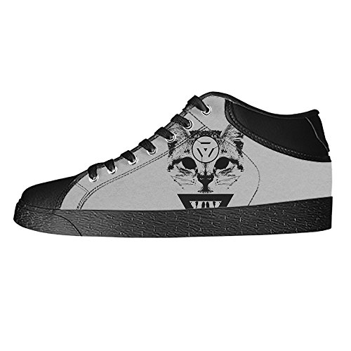 en's Canvas shoes Schuhe Lace-up High-top Sneakers Segeltuchschuhe Leinwand-Schuh-Turnschuhe (Katze Aus Dem Zauberer Von Oz)