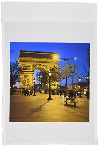 3dRose FL_81424_1 Bogen des Triumphs, Paris, Frankreich-EU09 DBN0547-David Barnes Gartenflagge, 30,5 x 45,7 cm -