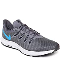 9adf6d64c642 Nike Men s Quest Grey Running Shoes (AA7403-005)