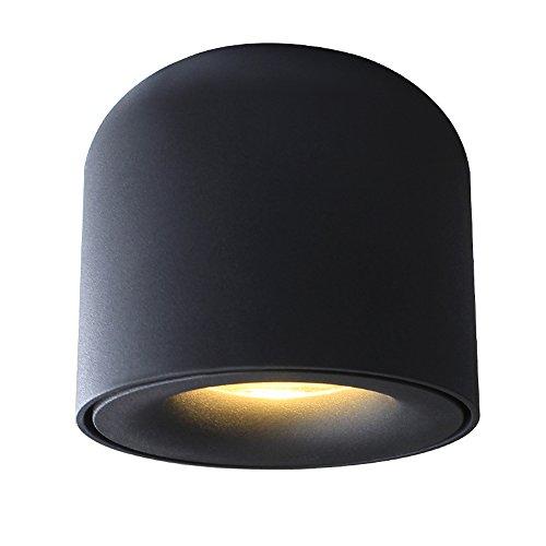 Neilyn LED Downlight Deckenstrahler Living Lamp Deckenleuchten für Küche Garland Lichter LED Oberflächenmontage 220v (Color : White Light, Größe : 5w) (2-licht Für Oberflächenmontage)