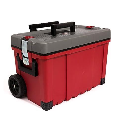 65 cm wide HAWK CART mobile large tool box troley