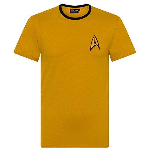 Official Star Trek Command Uniform Men's T-Shirt