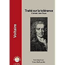 Traité sur la tolérance - L'affaire Jean Calas ( 1 CD MP3)