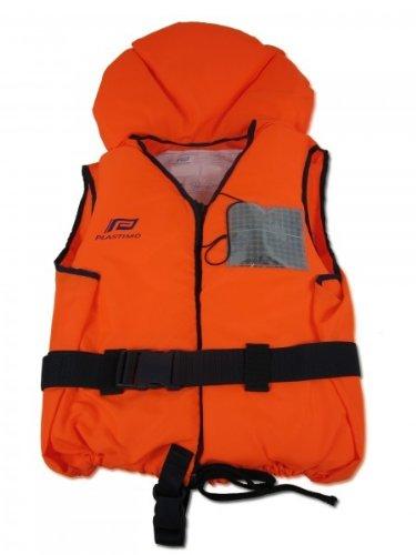 Rettungsweste TYPHON, 100 newton, orange 30-50kg