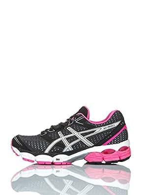 Asics  Performance Gel-pulse 5,  Damen Sneakers , schwarz - Schwarz/Fuchsia - Größe: EU 37.5 (US 6.5)