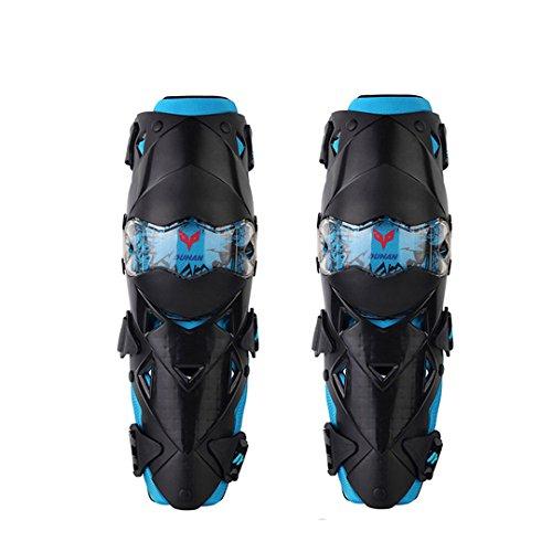 4pcs Protecteur Garde Armure de Coude Genou Genouill/ère Coudi/ères pour Sports Ext/érieur Moto Cyclisme V/élo Patinage Racing S/écurit/é Protecteur Equipement de Protection BSDDP BSD1002