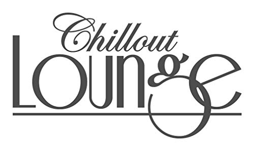 Wandtattoo Spruch Chillout Lounge Wohnzimmer Wandaufkleber Wandsticker
