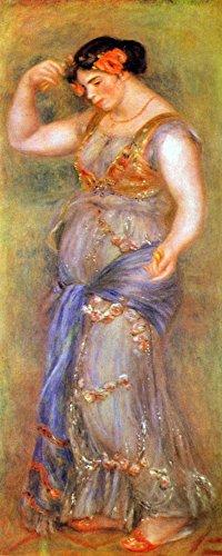 Das Museum Outlet–Tänzer mit kastagnetten von Renoir–Poster Print Online kaufen (76,2x 101,6cm)