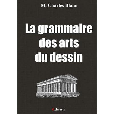 La grammaire des arts du dessin