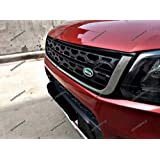 Shoppersville premium quality grill for brezza (Range Rover Discovery style with chrome)